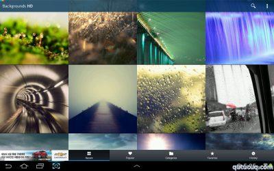 Backgrounds HD – Android üçün ekran şəkilləri ekran görüntüsü