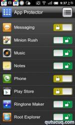 App Lock ekran görüntüsü