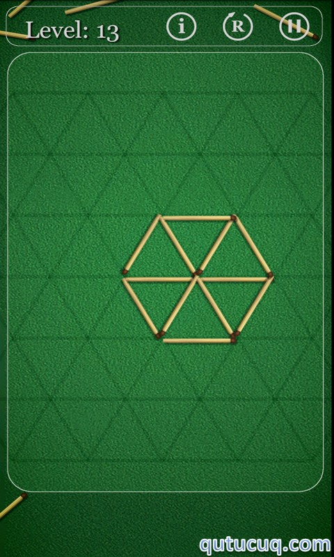Скриншот в Puzzles with Matches — Загадки со спичками