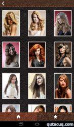 Saç düzümləri ekran görüntüsü