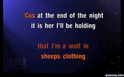Karaoke ekran görüntüsü