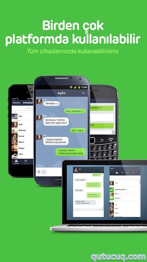 Line ekran görüntüsü