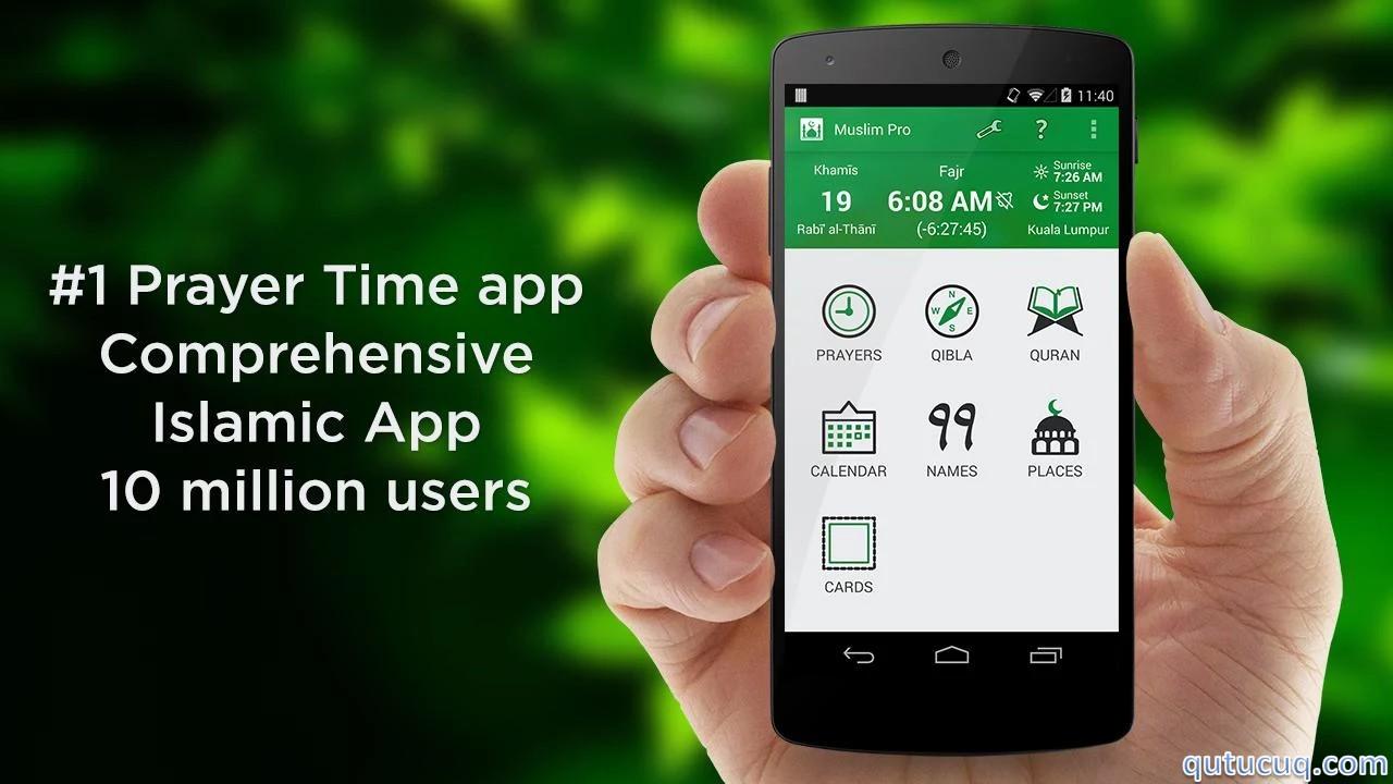 Muslim Pro ekran görüntüsü
