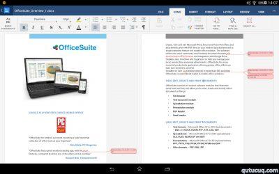 OfficeSuite ekran görüntüsü
