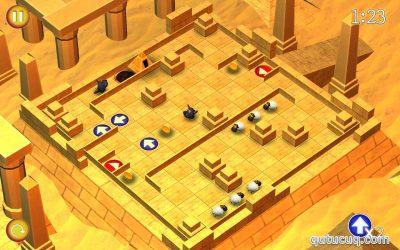 Running Sheep: Tiny Worlds ekran görüntüsü