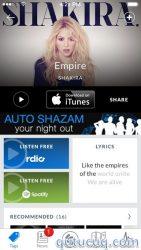 Shazam ekran görüntüsü