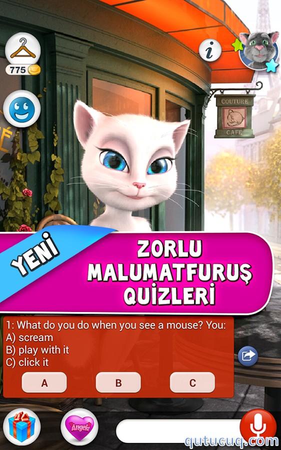 Talking Angela ekran görüntüsü