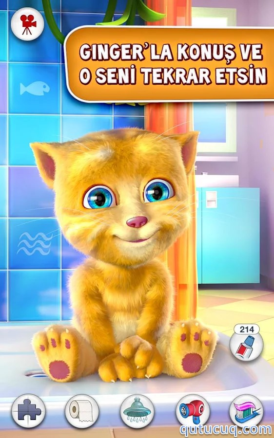Talking Ginger ekran görüntüsü