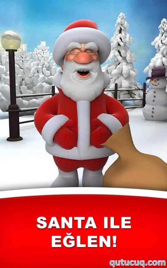 Talking Santa ekran görüntüsü