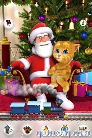Talking Santa meets Ginger ekran görüntüsü