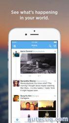 iOS üçün Twitter ekran görüntüsü