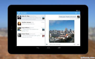 Android üçün Twitter ekran görüntüsü