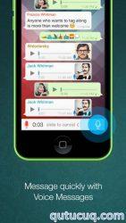 iOS üçün Whatsapp ekran görüntüsü
