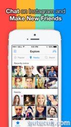 InstaMessage ekran görüntüsü