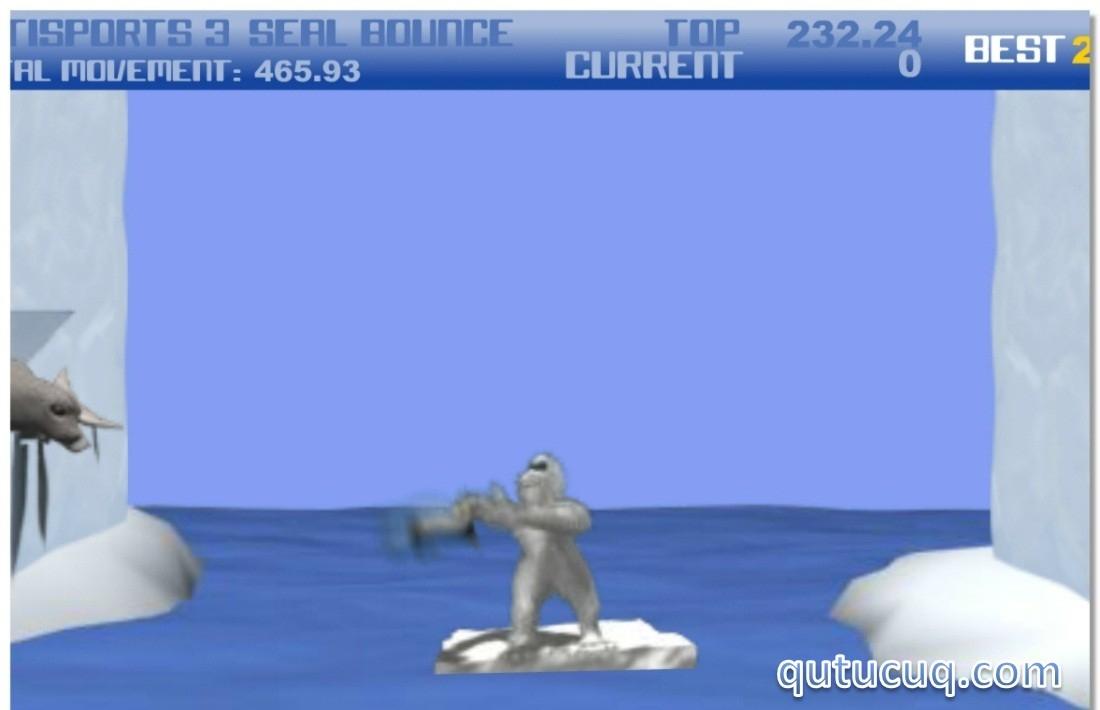 YetiSports 3 – Seal Bounce ekran görüntüsü