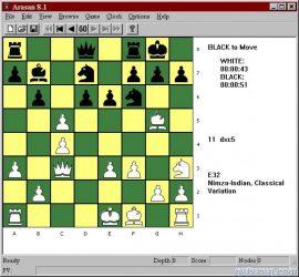 Arasan Şahmat Oyunu ekran görüntüsü