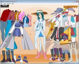Chidori Kaname Dress Up ekran görüntüsü