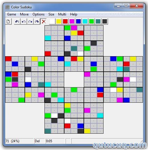 Color Sudoku ekran görüntüsü