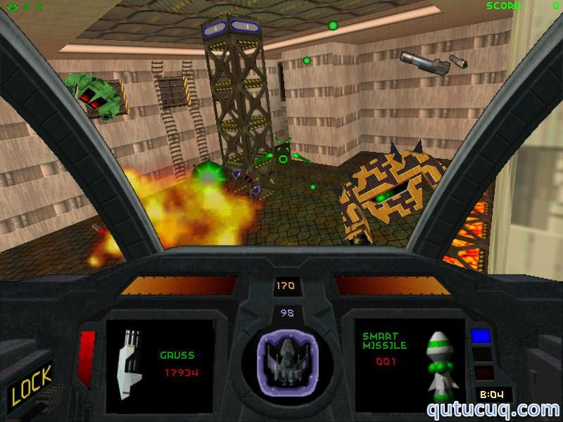 Descent 2 – D2X-XL ekran görüntüsü