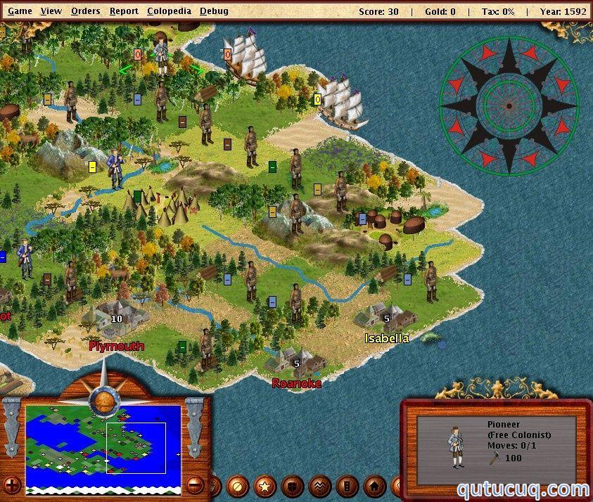 FreeCol ekran görüntüsü