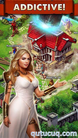 Game of War ekran görüntüsü