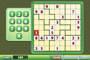 Jigsaw Sudoku ekran görüntüsü