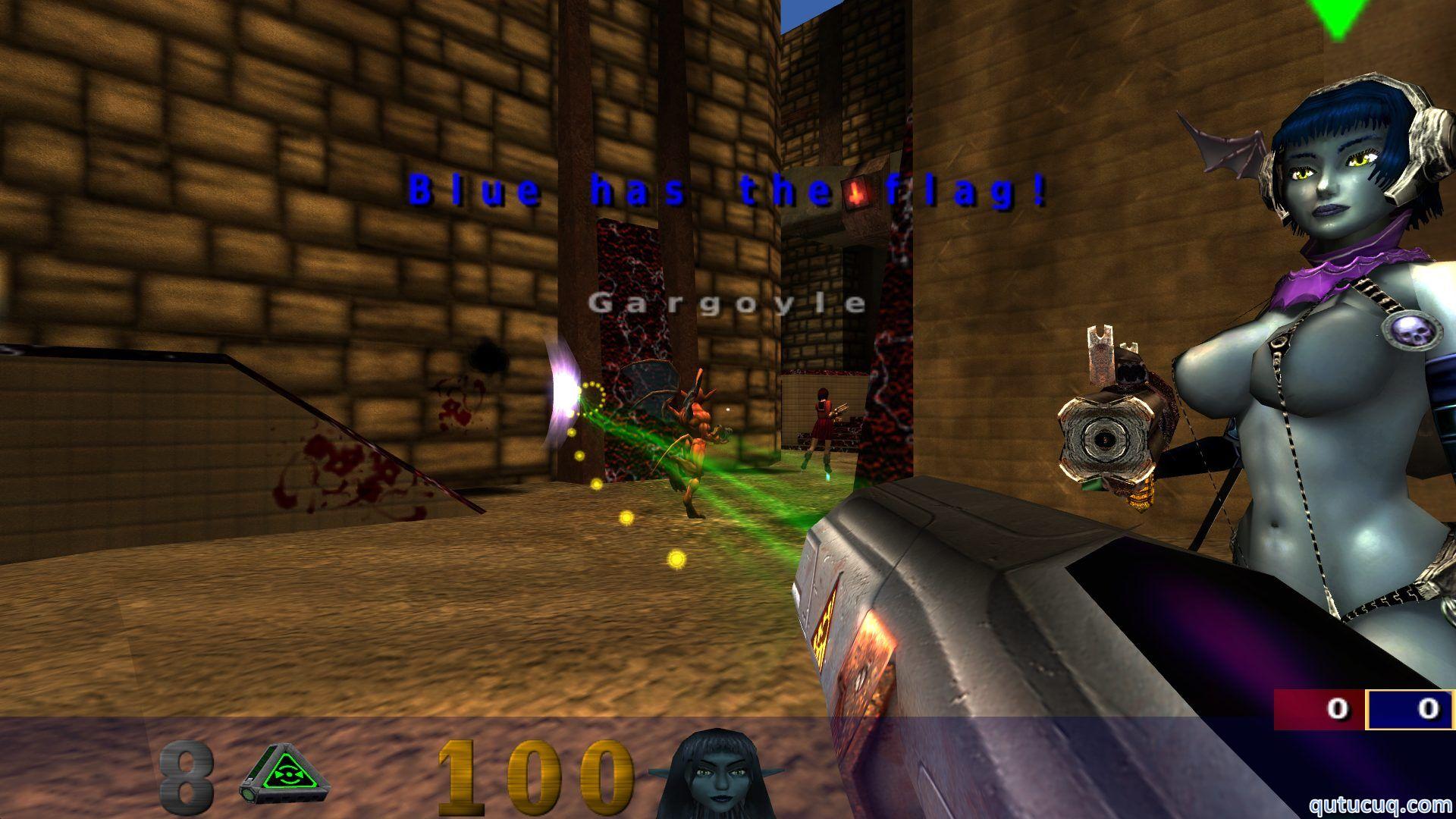 OpenArena ekran görüntüsü