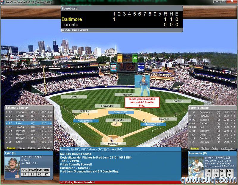 PureSim Baseball 2007 ekran görüntüsü