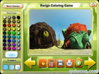 Rango Coloring ekran görüntüsü