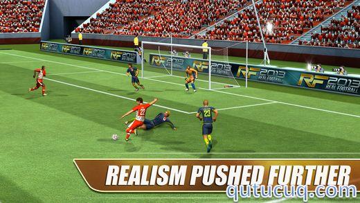 Real Football 2013 ekran görüntüsü