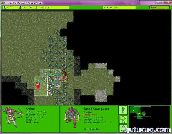 Sacculus: The Wargame ekran görüntüsü