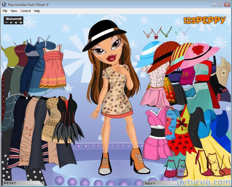 Sasha Bratz Dress Up ekran görüntüsü