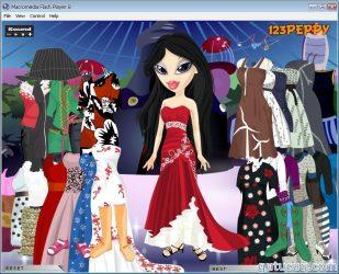 Sheridan Bratz Dress Up ekran görüntüsü