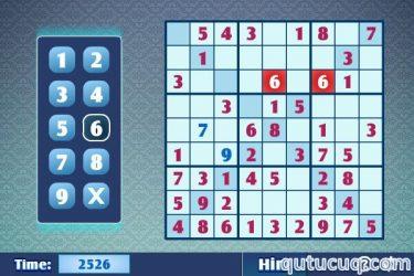 Sudoku X ekran görüntüsü