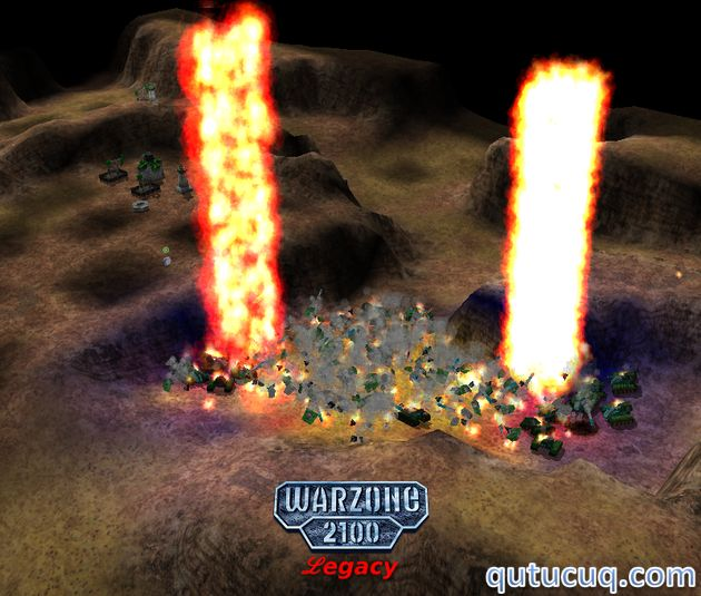 Warzone 2100 ekran görüntüsü