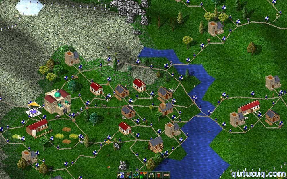 Widelands (Build 17) ekran görüntüsü