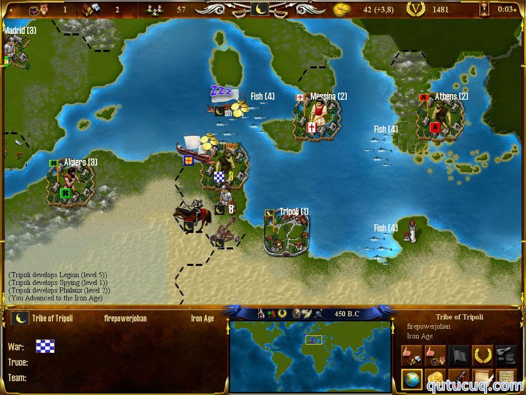 World Empire ekran görüntüsü