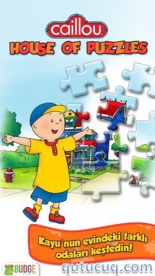 Скриншот в Caillou House of Puzzles