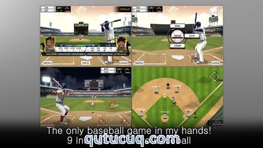 9 Innings: 2015 Pro Baseball Yüklə ekran görüntüsü