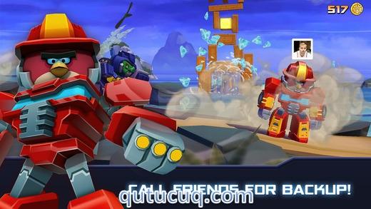 Angry Birds Transformers Yüklə ekran görüntüsü