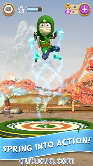Clumsy Ninja ekran görüntüsü