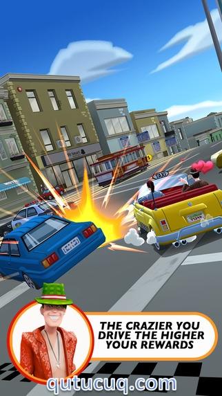 Crazy Taxi City Rush ekran görüntüsü