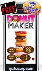 Donut Maker ekran görüntüsü
