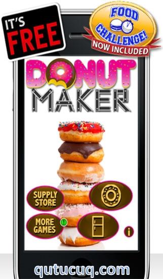 Donut Maker Yüklə ekran görüntüsü