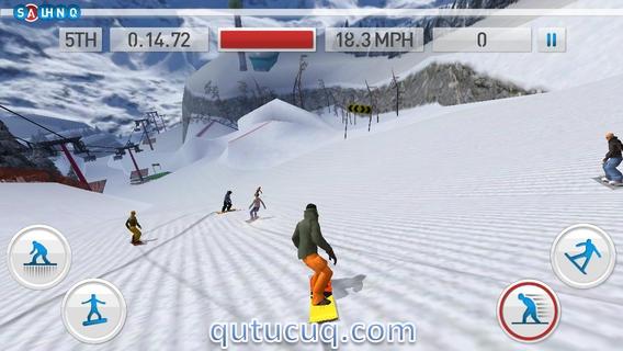 Fresh Tracks Snowboarding ekran görüntüsü