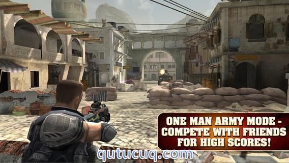 Скриншот в Frontline Commando