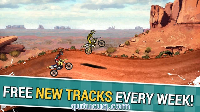 Скриншот в Mad Skills Motocross 2