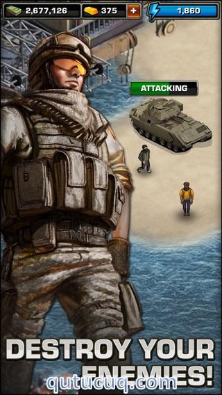 Modern War ekran görüntüsü