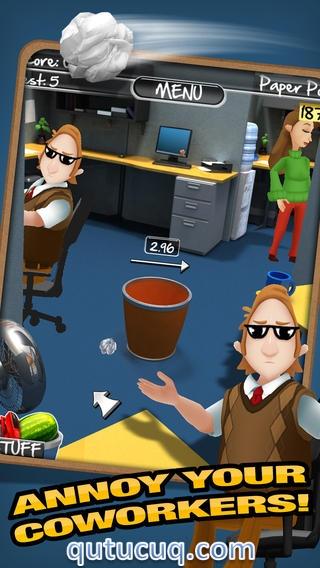Paper Toss 2.0 ekran görüntüsü