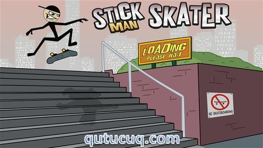 Stickman Skater ekran görüntüsü